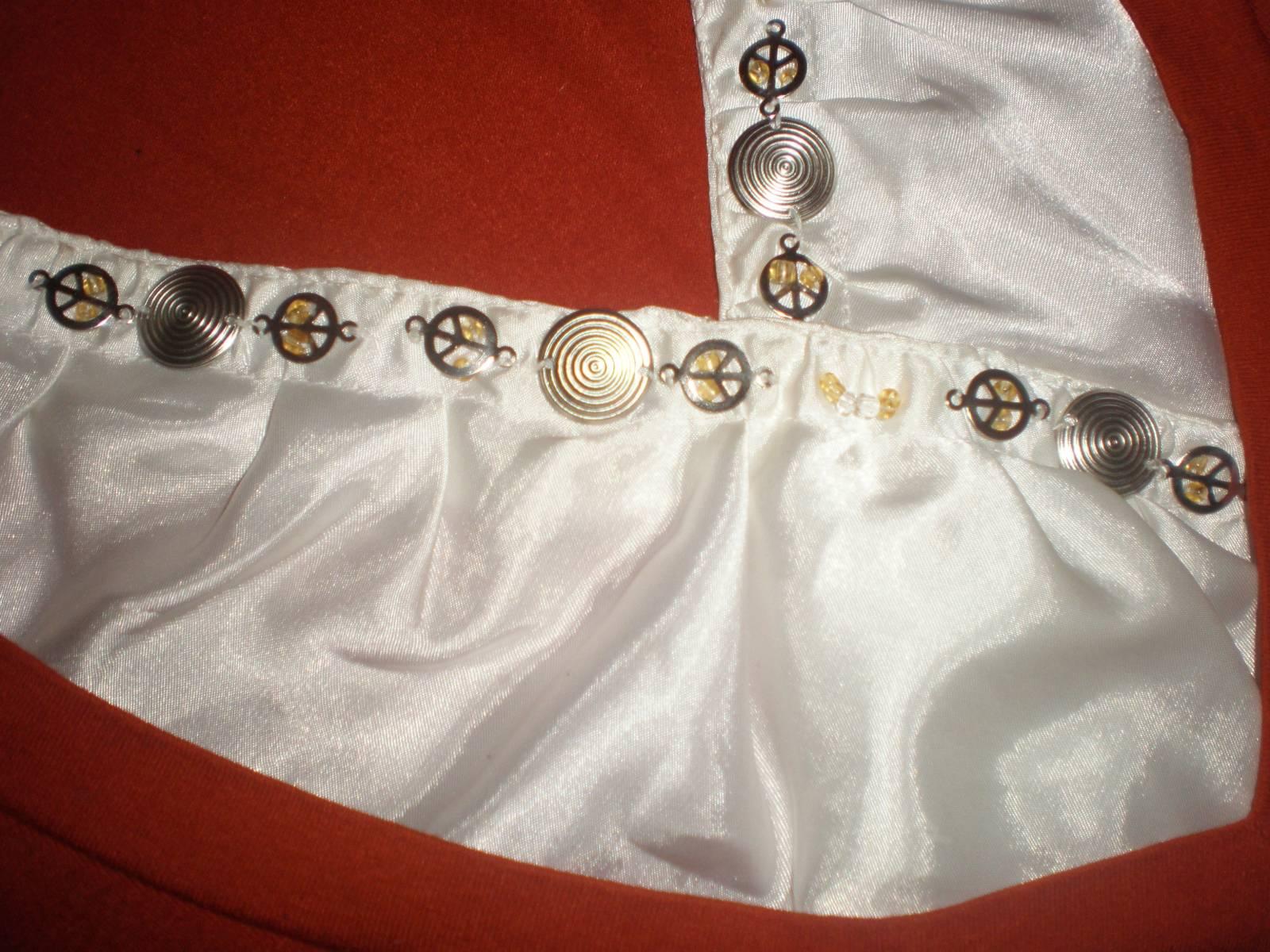 Декорирование блузок своими руками 89
